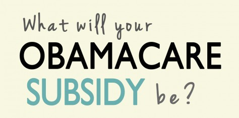 Obamacare Subsidies- What Will Yours Be?