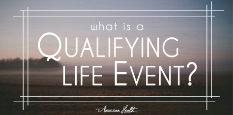 What is a Qualifying Life Event?